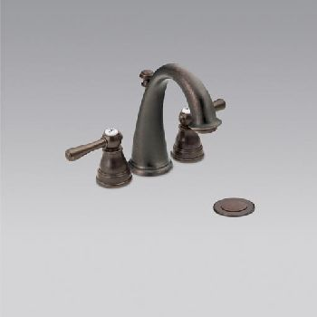 DirtCheapFaucets.com - Moen T6123ORB Kingsley Mini Widespread ...