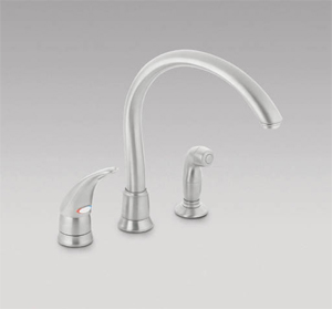 moen 7730sl monticello kitchen faucet with cathedral spout stainless